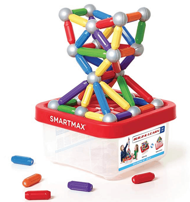 SmartMax Build & Learn STEM Magnetic Discovery Building Set