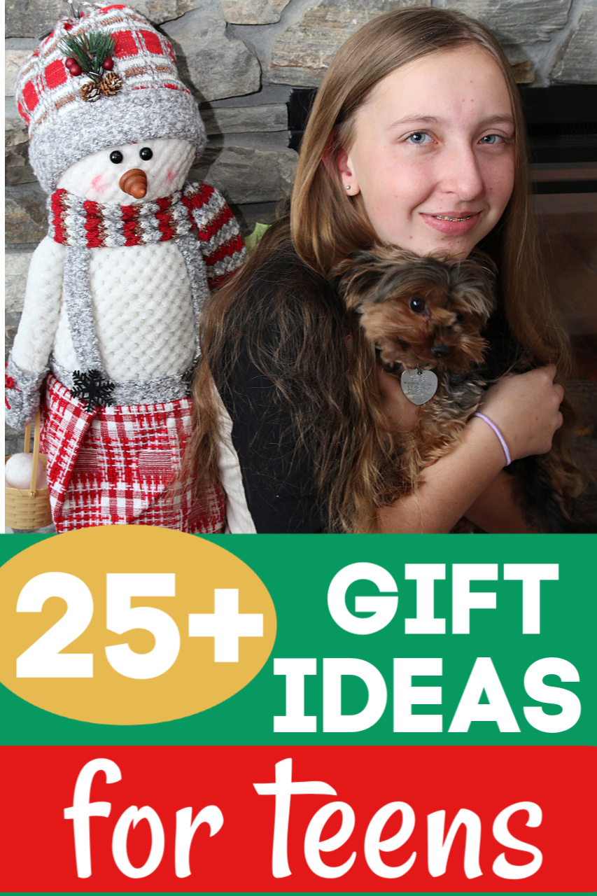 Over 25 Gift Ideas for Teens