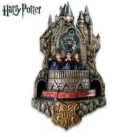 Harry Potter Wall Clock With Lights, Music, & Motion
