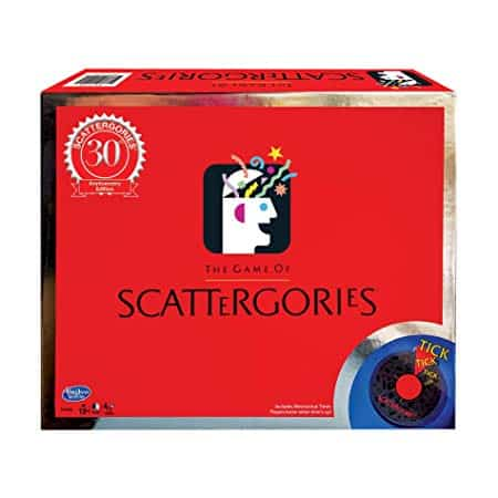 Winning Moves Scattergories 30th Anniversary Edition