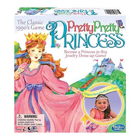 Pretty Princess Board Game