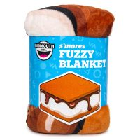 S'Mores Fuzzy Throw Blanket fromBigMouth Inc.