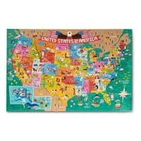 Melissa & Doug Giant Floor Puzzle: America The Beautiful (60 Pieces)