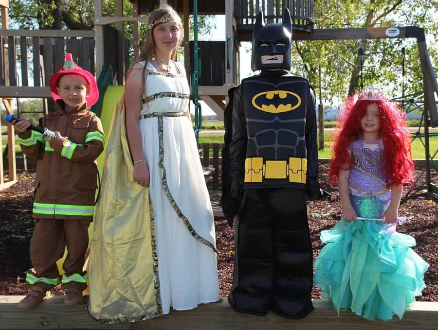 Chasing Fireflies Unique Halloween Costumes For Kids - Group Photo