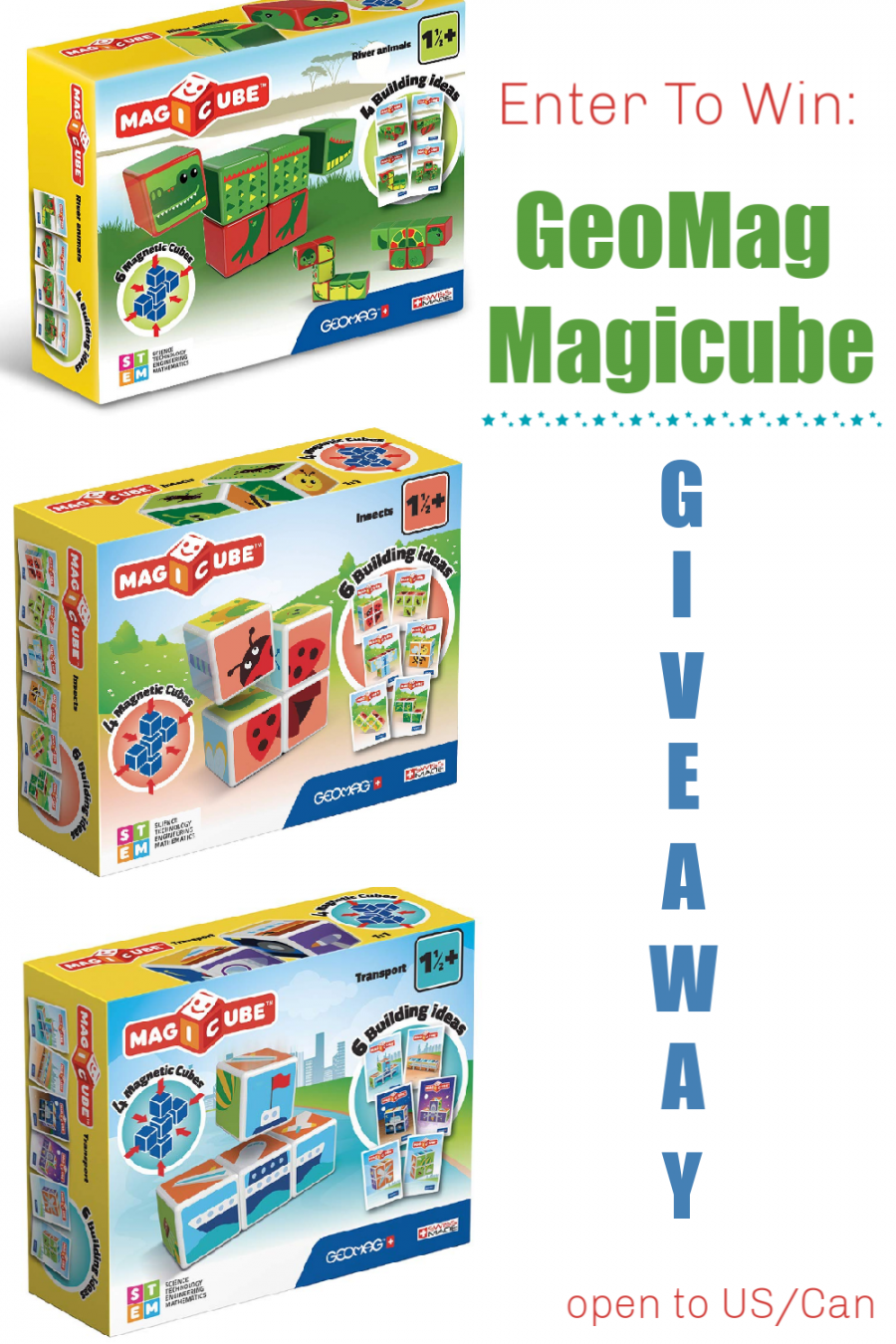 GeoMag Magicube Giveaway