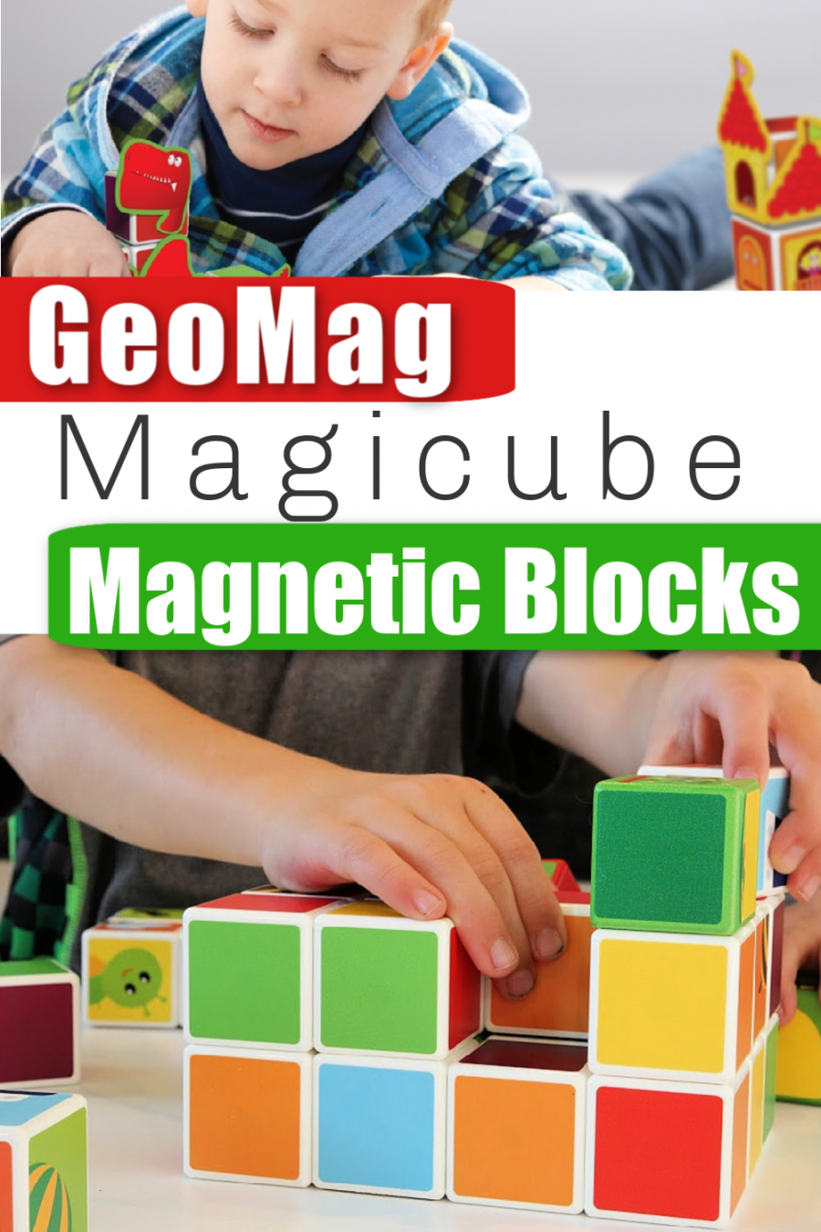 GeoMag Magicube - Magnetic Building Blocks 31