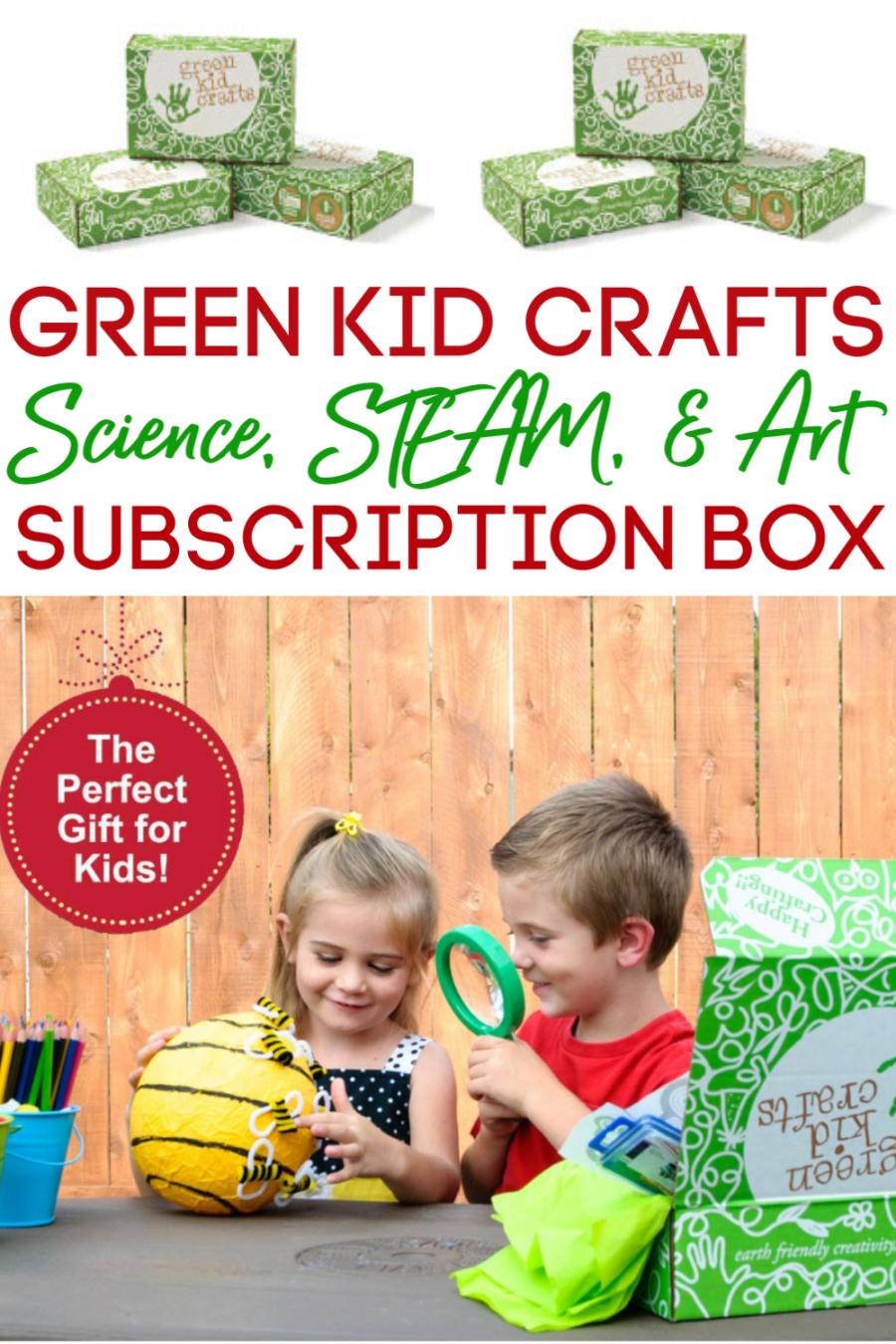 Green Kid Crafts Subscription Box 5