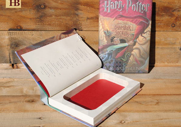 Hollow Books By Refined Pallet® {Harry Potter Book Safe}