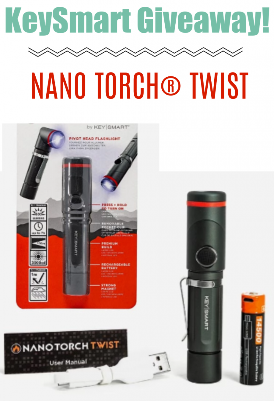 NANOTORCH TWIST Giveaway