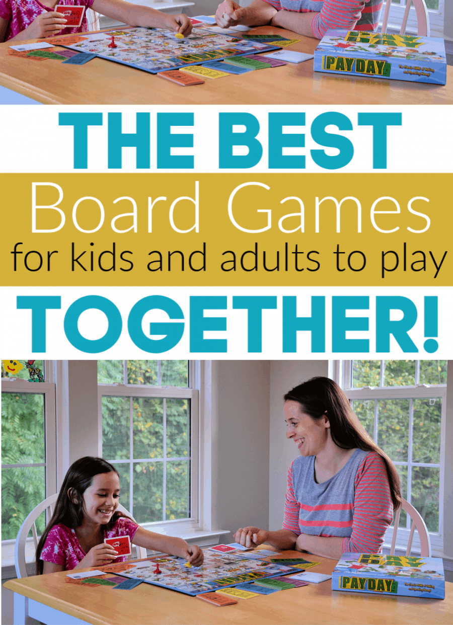 The Best Board Games for Kids and Adutls to Play Together