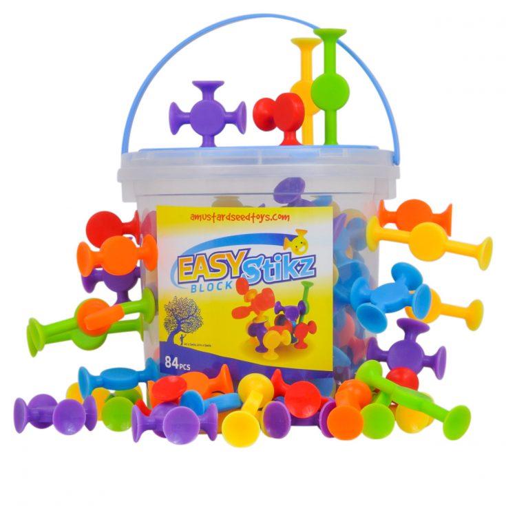 Easy Stikz Suction Building Toys