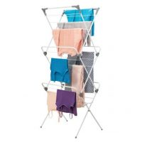Tall Collapsible Laundry Clothes Drying Rack