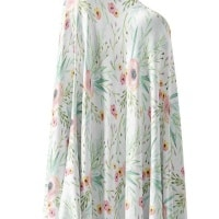 Floral Kiss Knit Swaddle Blanket