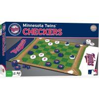 Minnesota Twins Checkers Board Game