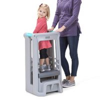 Simplay3 Toddler Tower Children's Step Stool with Three Adjustable Heights