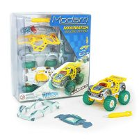 Modarri M1 Team Sharkz Monster Truck | Build Your Car Kit Toy Set