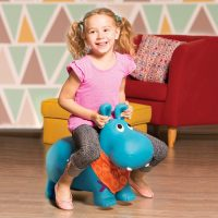 B. Toys Hanky Pants The Hippo Inflatable Ride-On Bouncer