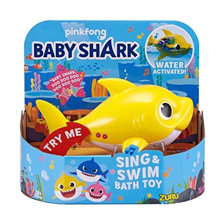 Robo Alive Junior Baby Shark Battery