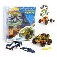Modarri M1Jurassic Beasts Monster Truck - Build Your Car Kit Toy Set -