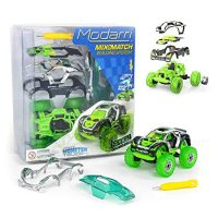 Modarri M1 Space Invaders Monster Truck | Build Your Car Kit Toy Set