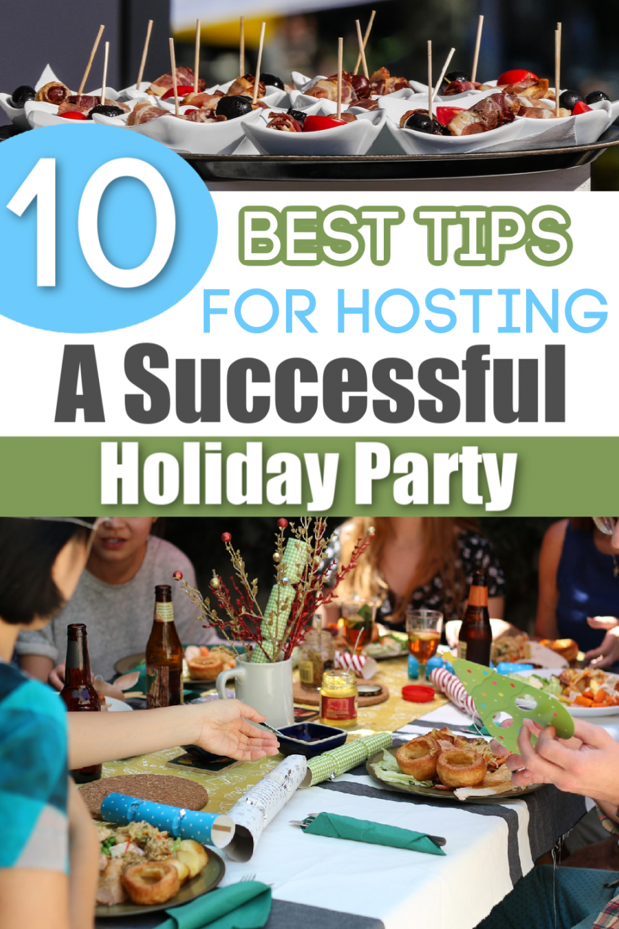 """Best Tips For Hosting A Successful Holiday Party {+ NewAir 24"""" Built-in 177 Can Beverage Fridge Review} - We've got 10 proven tips to help you succeed!"""