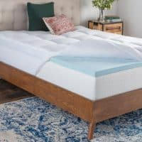 Brookside Home Pillow Top & Gel Infused Memory Foam Mattress Topper