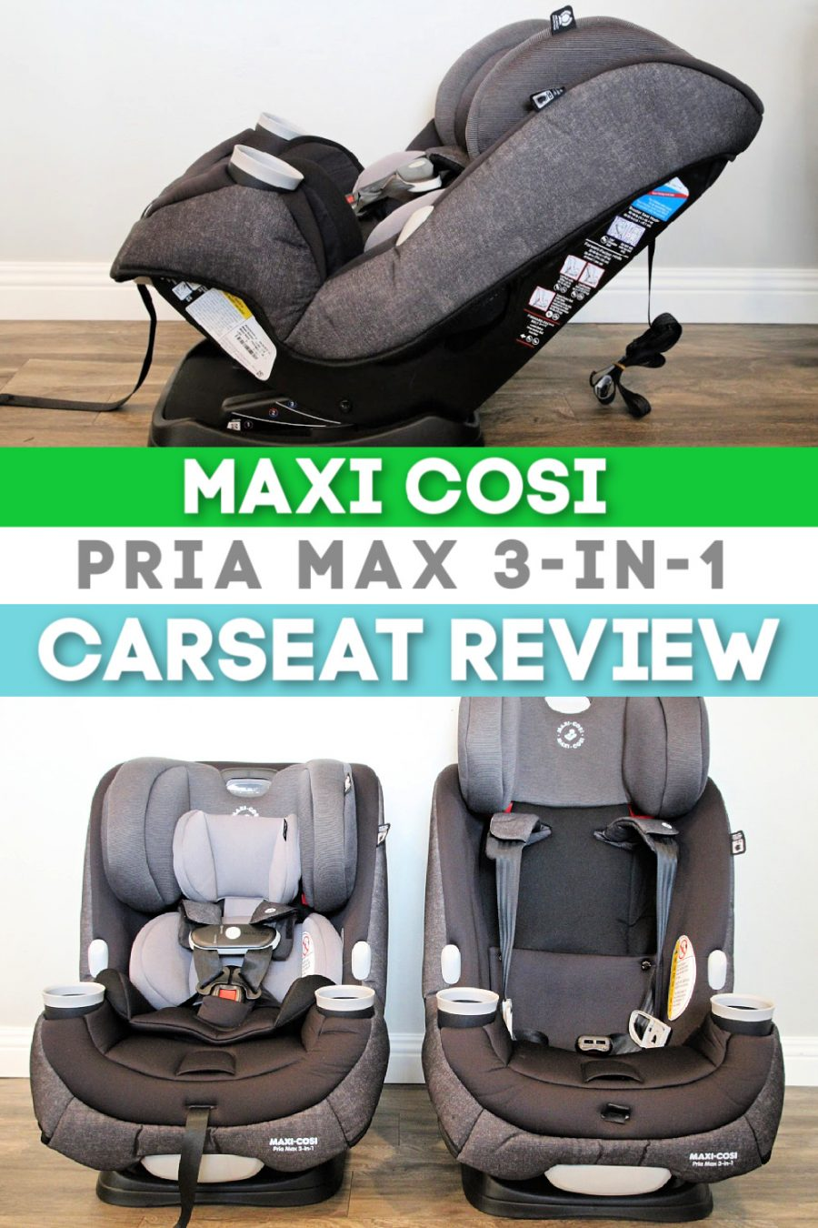 Common Carseat Mistakes That May Be Putting Your Child In Danger! {+ Maxi Cosi Pria Max 3 in 1 Review} - Maxi Cosi Pria Max 3 in 1 Review