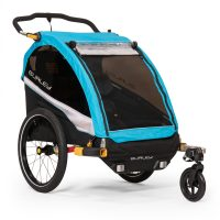 D'Lite X Kids Bike Trailer and Double Stroller - Burley Design