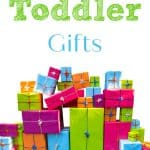 Best Toddler Gifts Thrifty Nifty Mommy Holiday Gift Guide and a pile of presents