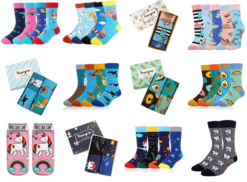 Happypop Sox - Fun Socks For Christmas {+ Giveaway}