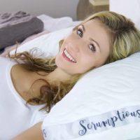 The Scrumptious Side Sleeper Pillow – Honeydew Sleep