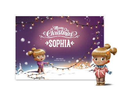 Merry Christmas - Personalized Children's Books