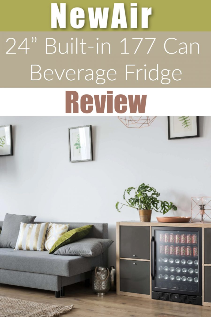 NewAir 24 Inch Built in 177 Can Beverage Fridge Review