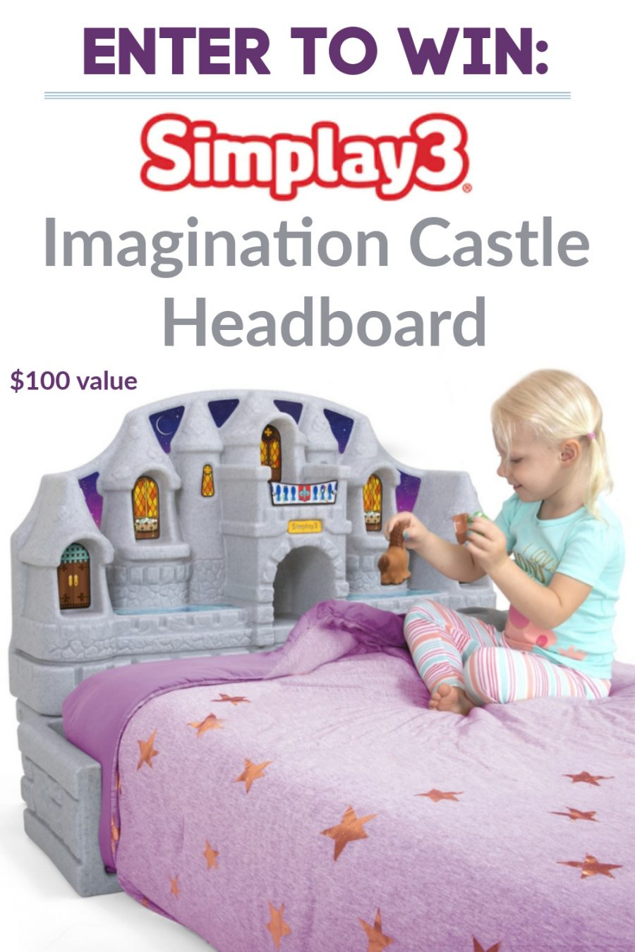 Simplay3 Imagination Castle Headboard Giveaway