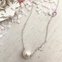 Pretty In Pearl Necklace