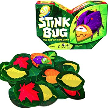 Stink Bug The Bug Out Card Game