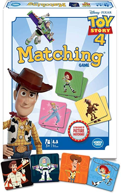 Wonder Forge Disney Toy Story 4 Matching Game