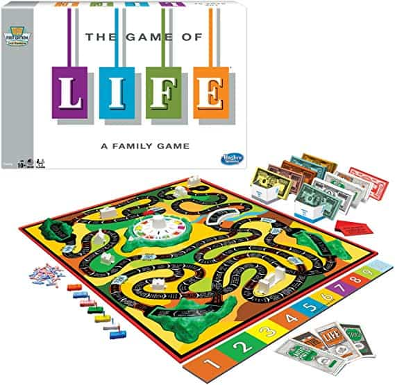 The Game of Life - Classic Version from Winning Moves Games