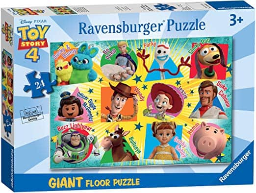 """Ravensburger Toy Story 4 """"24 Piece"""" Giant Floor Jigsaw Puzzle"""