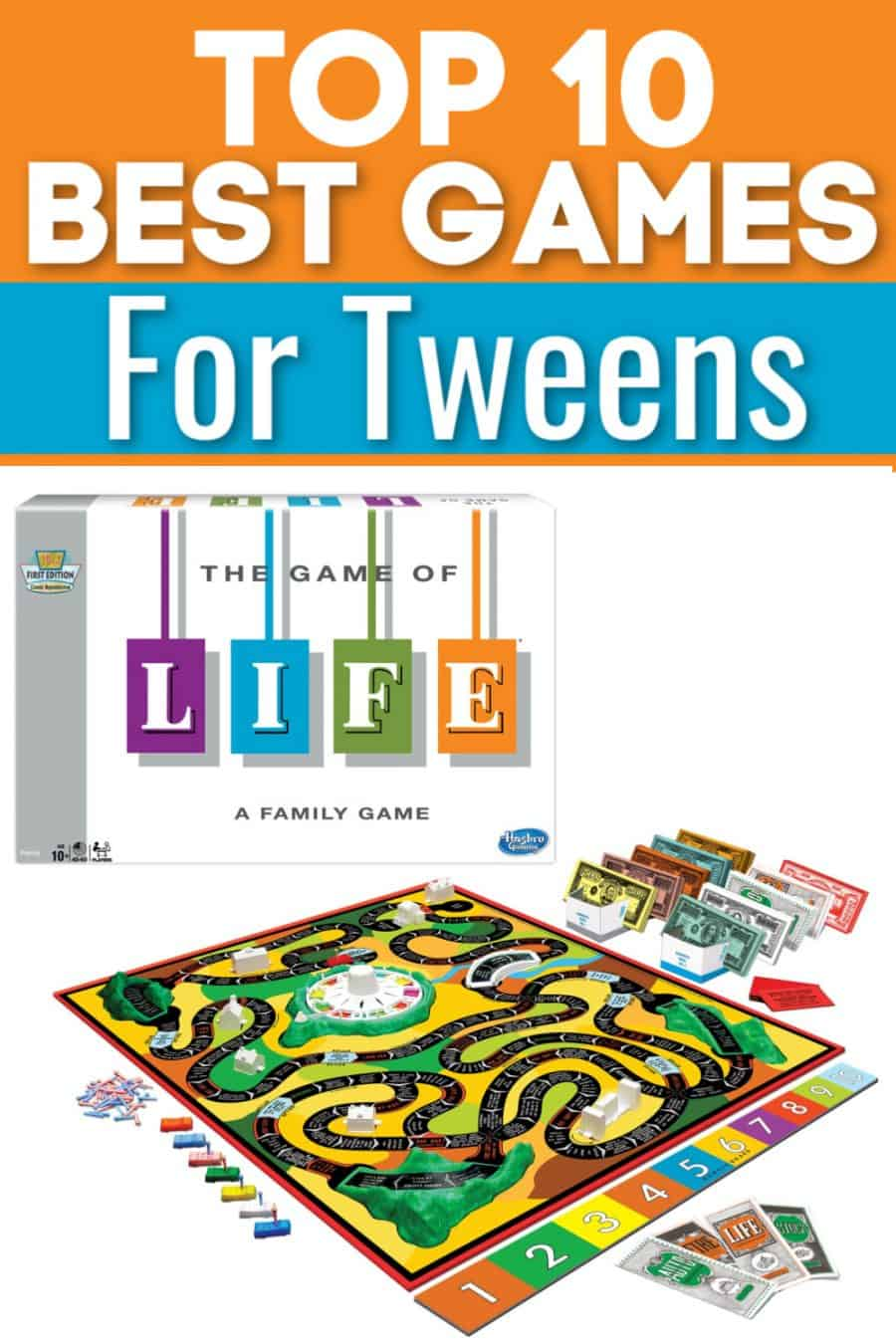 Top 10 Best Games for Tweens
