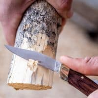 Single Blade Folding Knife — NoBox