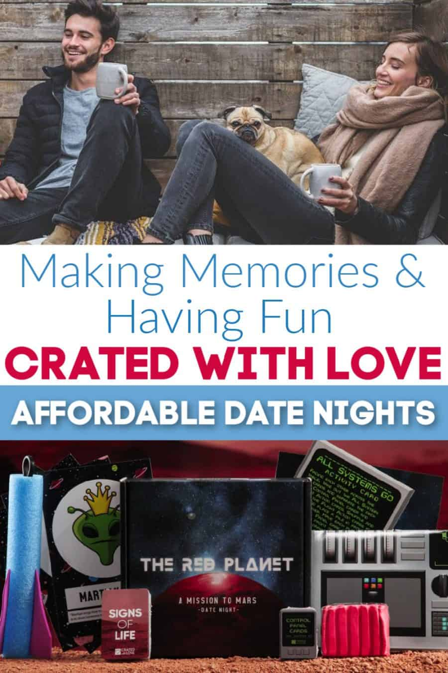 Affordable Date Nights With Crated With Love {+ Discount & BIG Giveaway!}