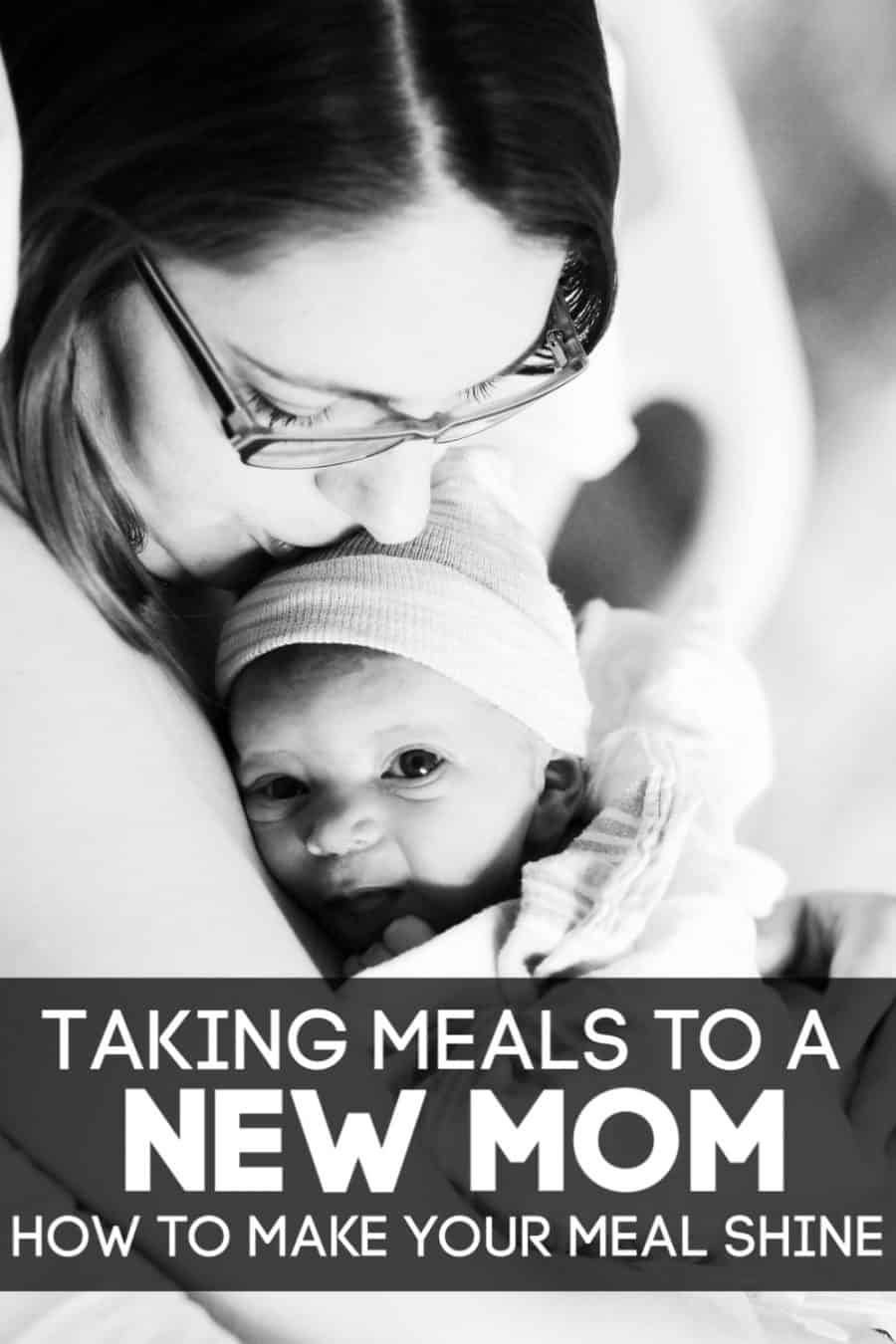 Taking Meals to a New Mom