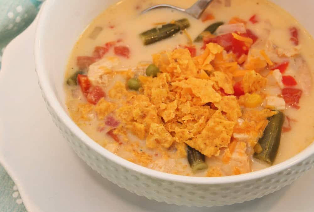 Chicken Tortilla Soup Recipe - Chicken Fajita Soup Recipe