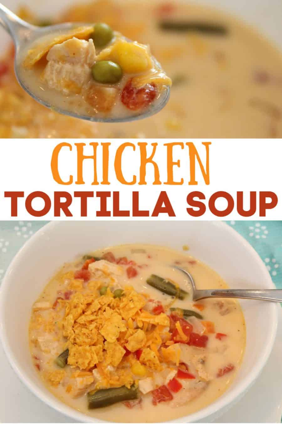 Chicken Tortilla Soup Recipe - Chicken Fajita Soup Recipe