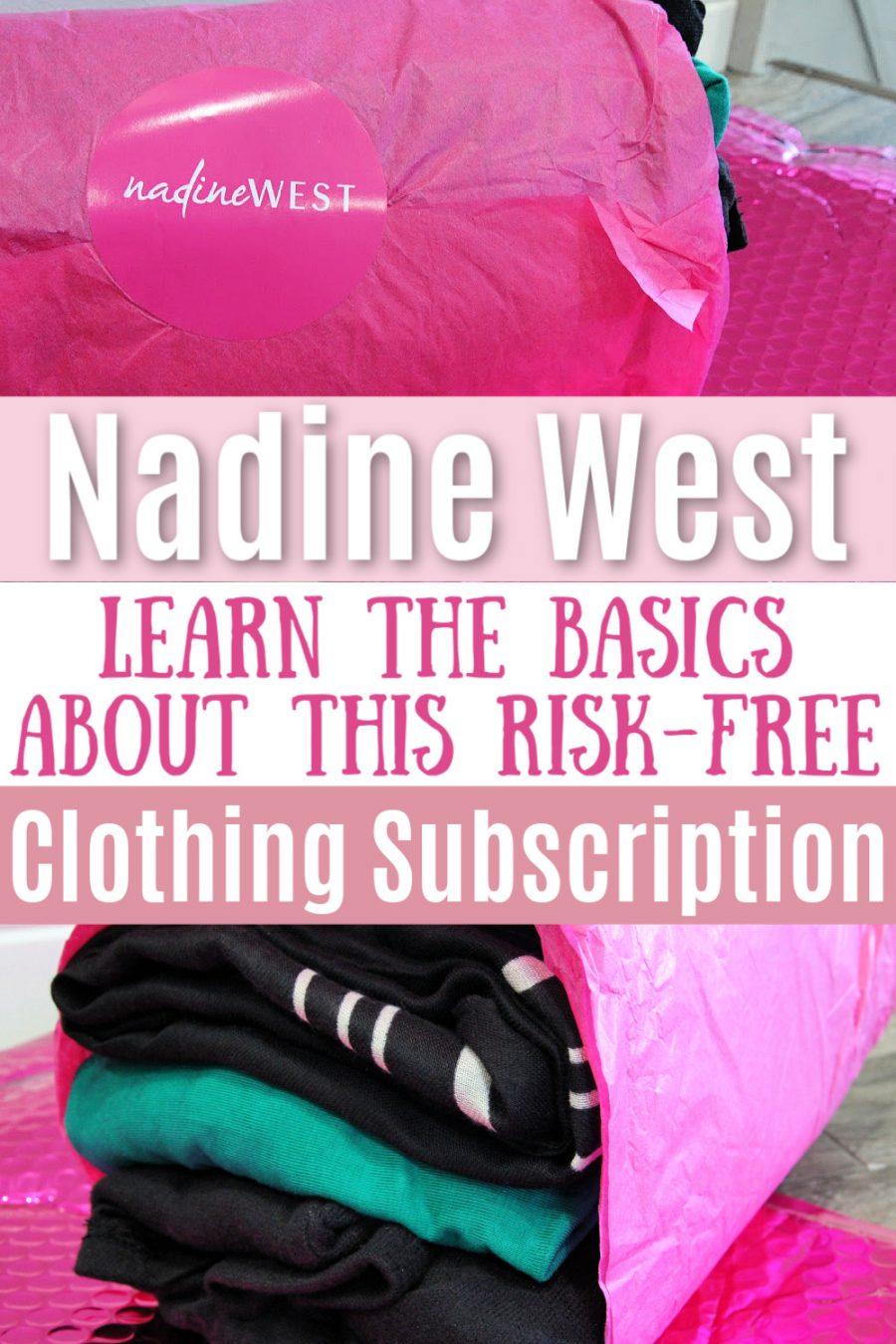 Nadine West Basics - A Risk Free Clothing Subscription