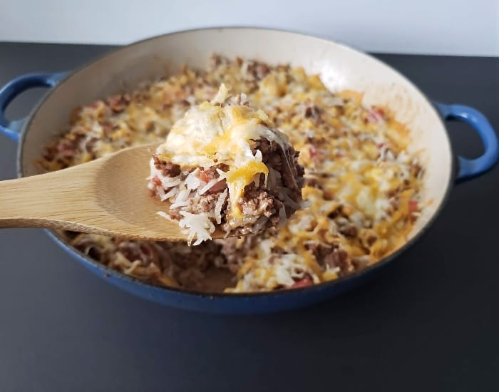 Cheesy Beef and Rice Casserole Recipe: Perfect Weeknight Dinner