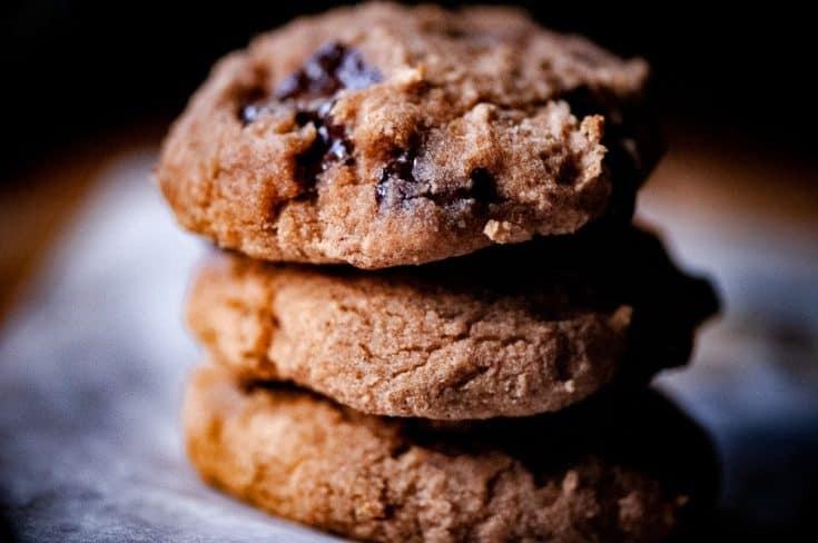 Naturally Sweetened Coconut Flour Banana Chocolate Chip Cookies (Gluten-Free, Dairy-Free, Keto Option)