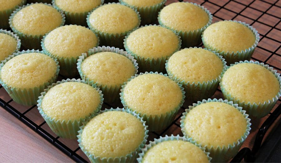 Easy Lemon Cupcakes Recipe - The BEST Lemon Filled Cupcakes