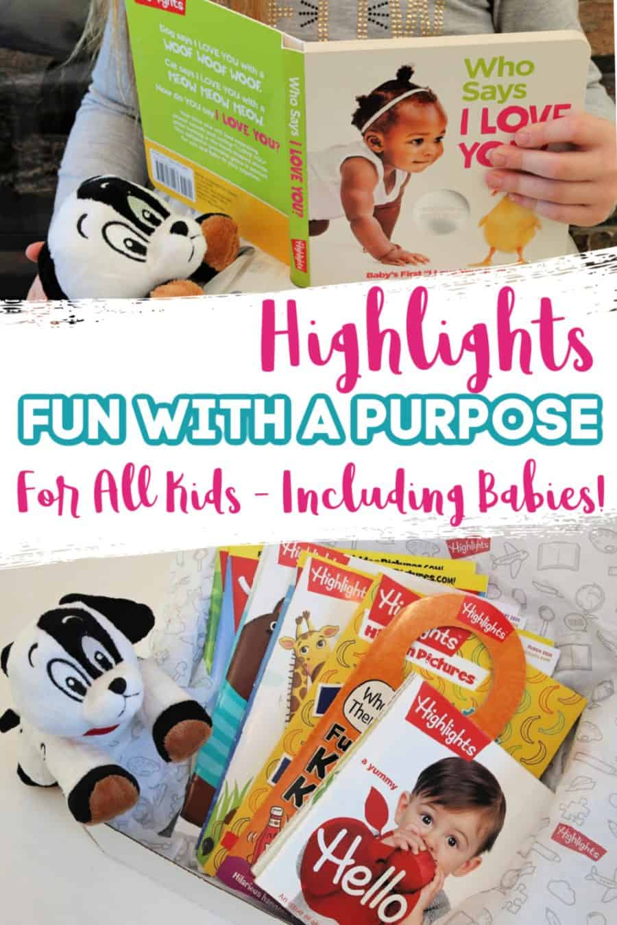 Highlights For Children Of All Ages - Including Babies! + BIG Sale {Fun With A Purpose}